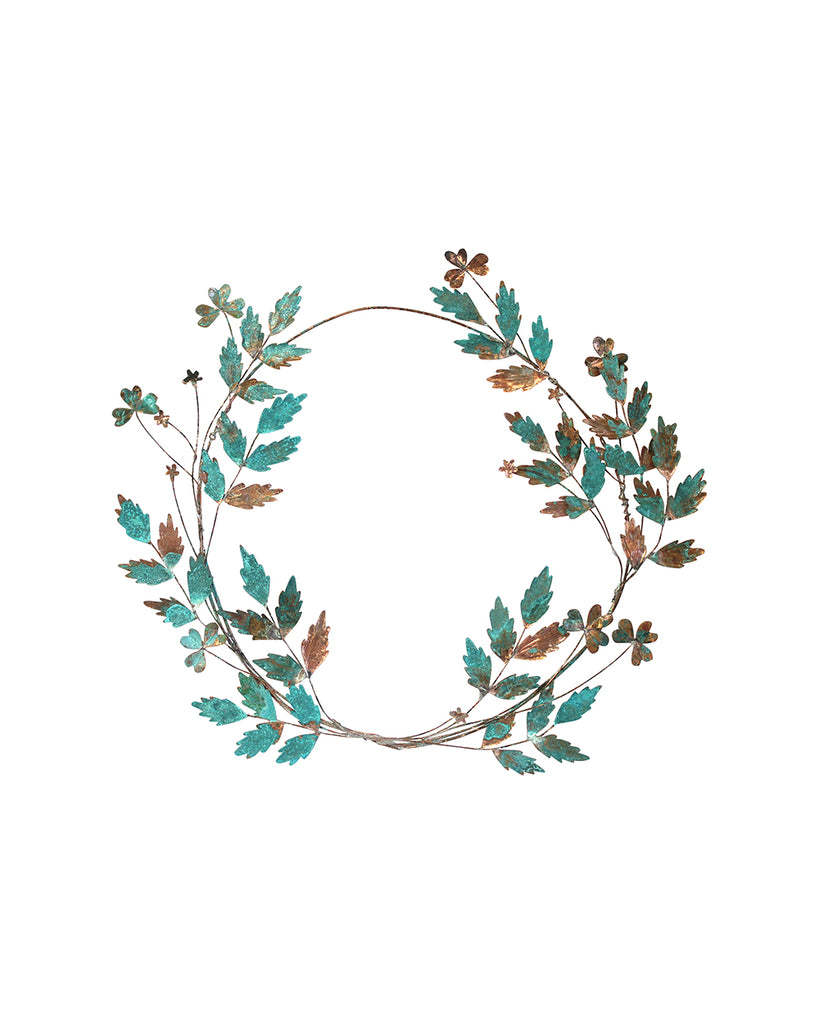 Hedgerow Wreath: No.2 Young Oak Leaves