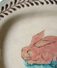Pink Rabbit Large Platter