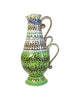 Tall Green Garland Jug