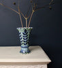 Black Stems Frilled Vase