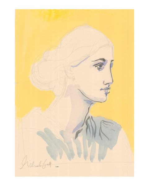 Painted Portrait - A Study for Virginia Woolf