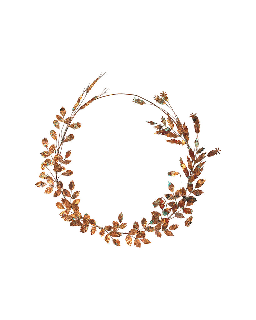 Hedgerow Wreath: No.4 - Winter Leaves