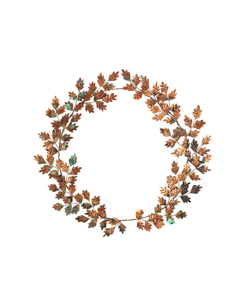 Hedgerow Wreath: No.5 - Hawthorn Leaves