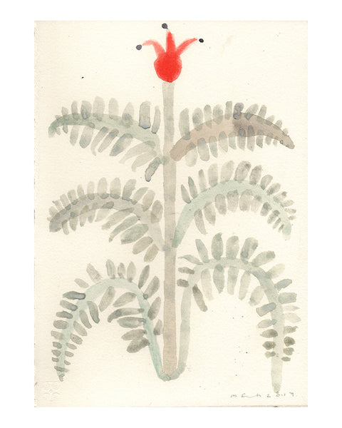 Jester Plant (Original Watercolour)
