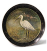 White Egret | Hand Painted Tray
