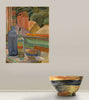 window still life (large bowl)