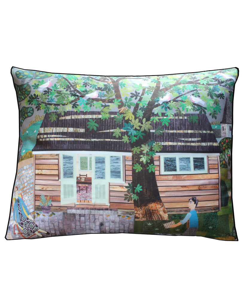 House Cushion Virginia Woolf's Writing Shed
