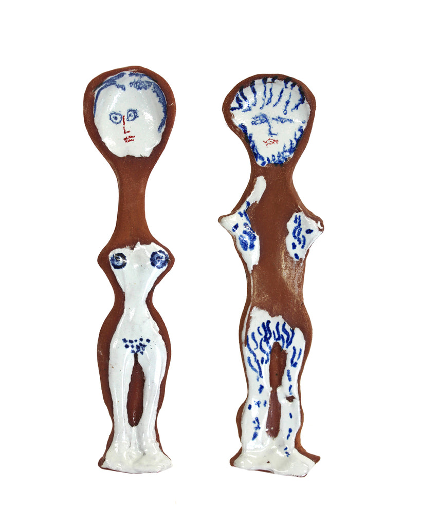 Adam & Eve | Pair of spoons