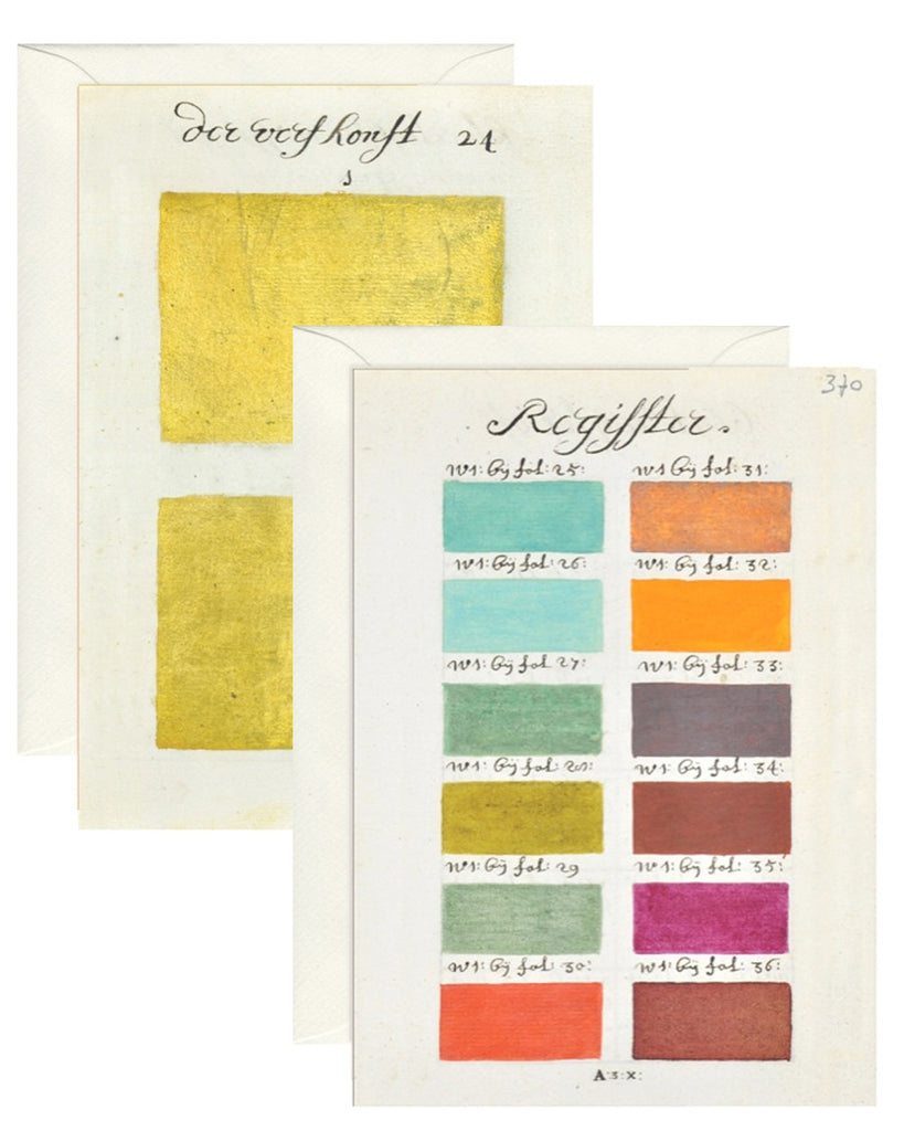GREETINGS CARDS COLOUR CHART