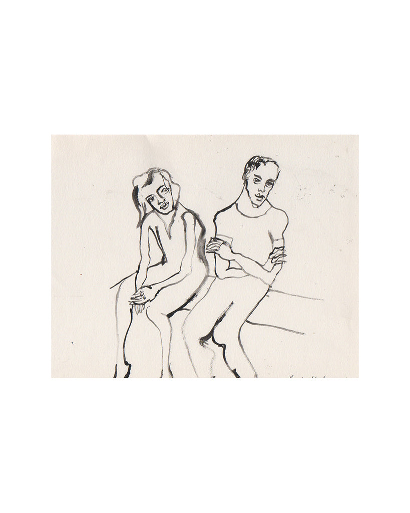 Raphael Balme: Couple on Bench
