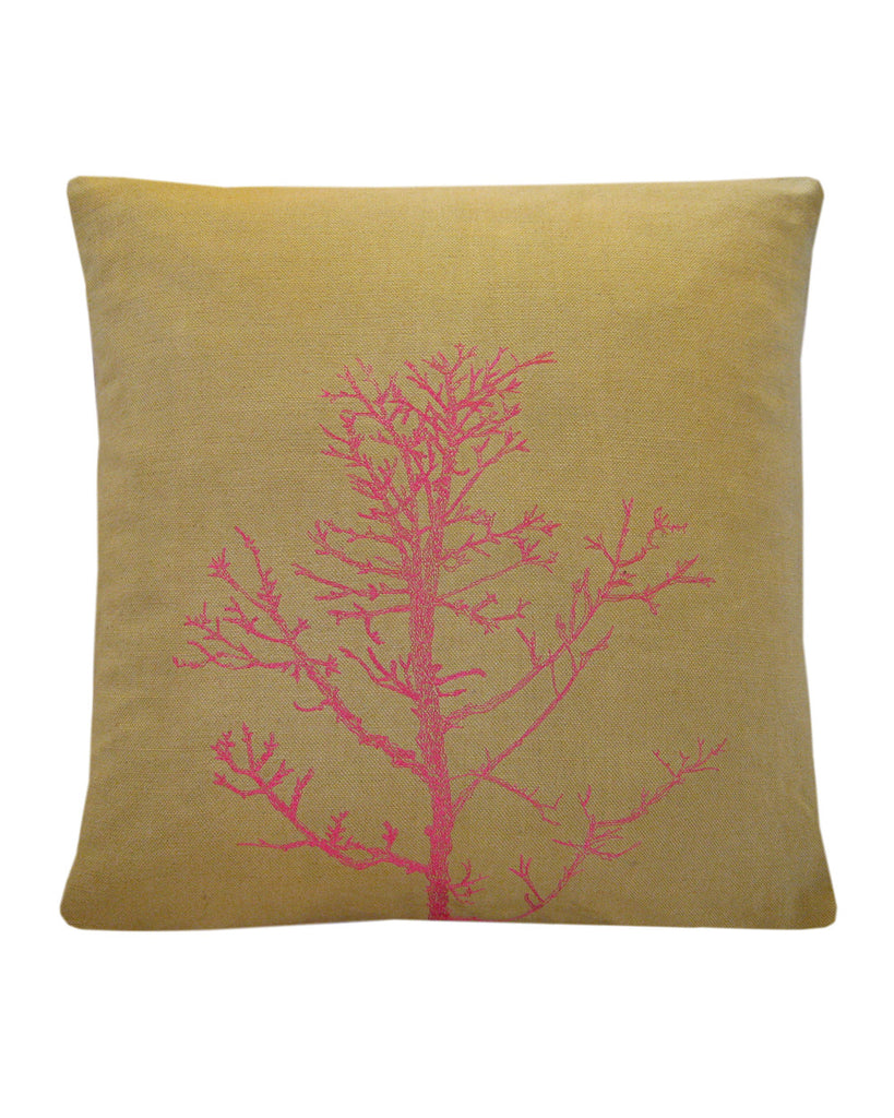 Winter Tree Khaki - cushion cover