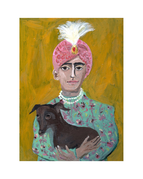 The Maharaja's Dog (Print)