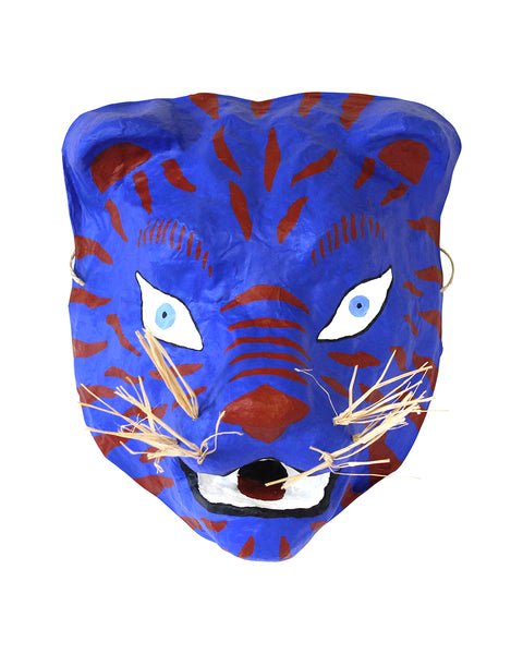 Mask: Blue Tiger