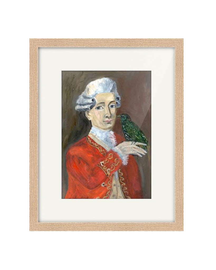 OIL PAINTING | Mozart & Starling