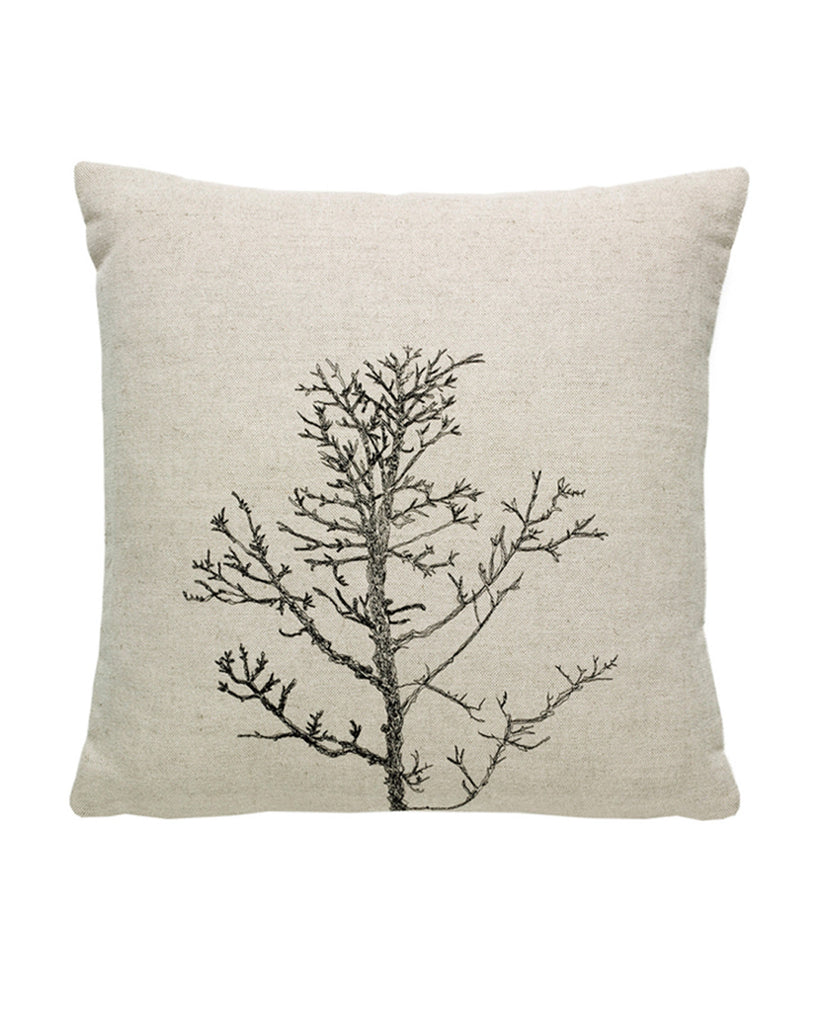 Winter Tree Natural - cushion cover