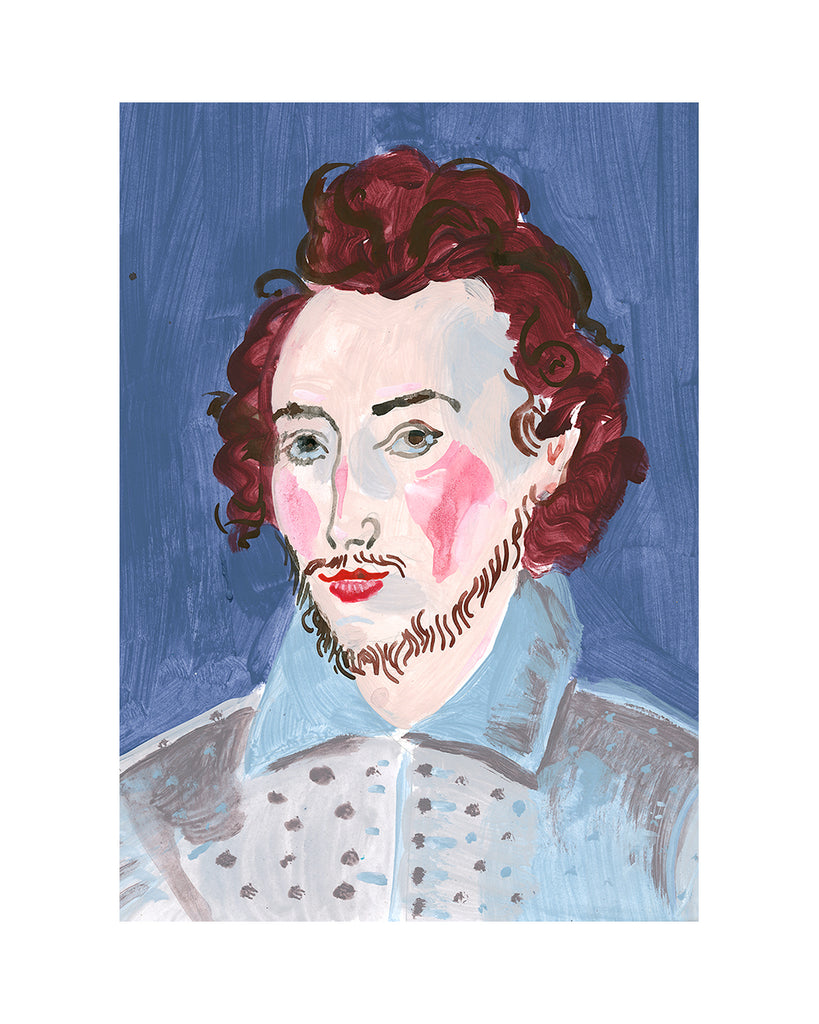 Painted Portrait - Sir Robert Dudley