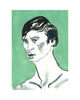 Painted Portrait - Rudolf Nureyev