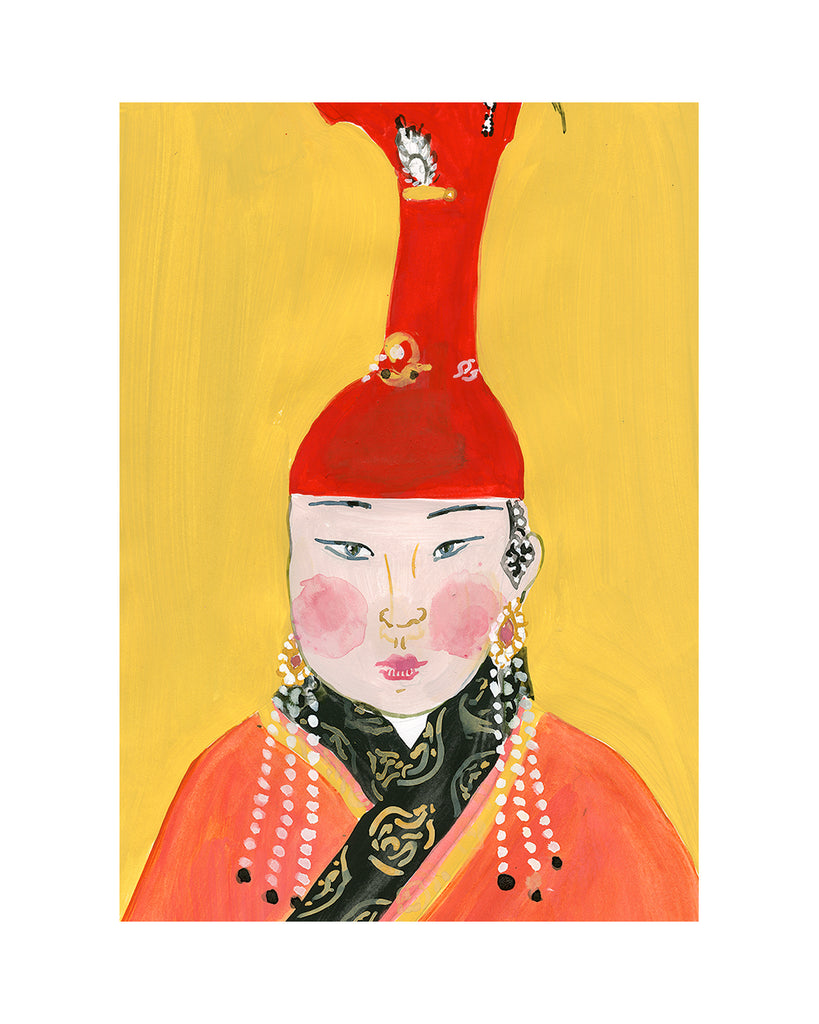 Painted Portrait - Empress Radnashiri