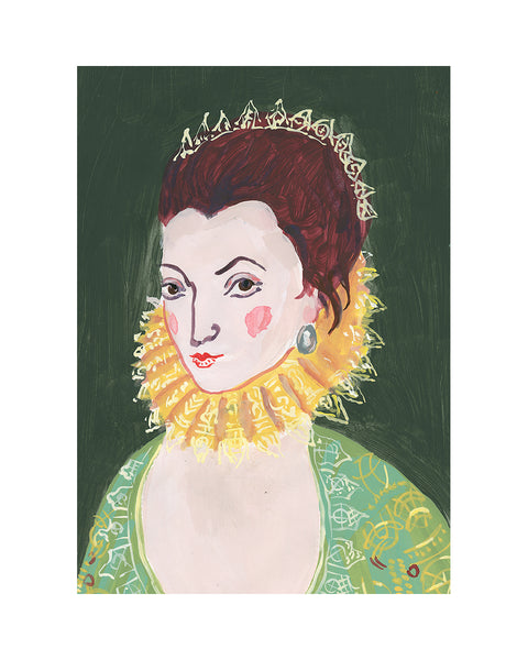 Painted Portrait - Lady Anne Clifford