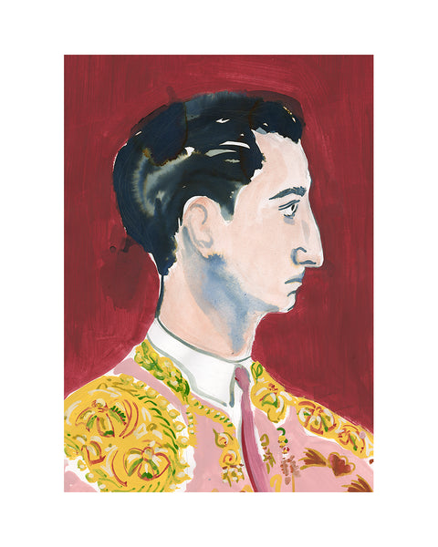 Painted Portrait - Manolete