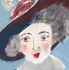 Painted Portrait - Frances Molesworth