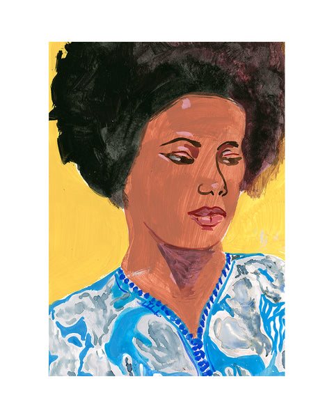 Painted Portrait - Alice Coltrane