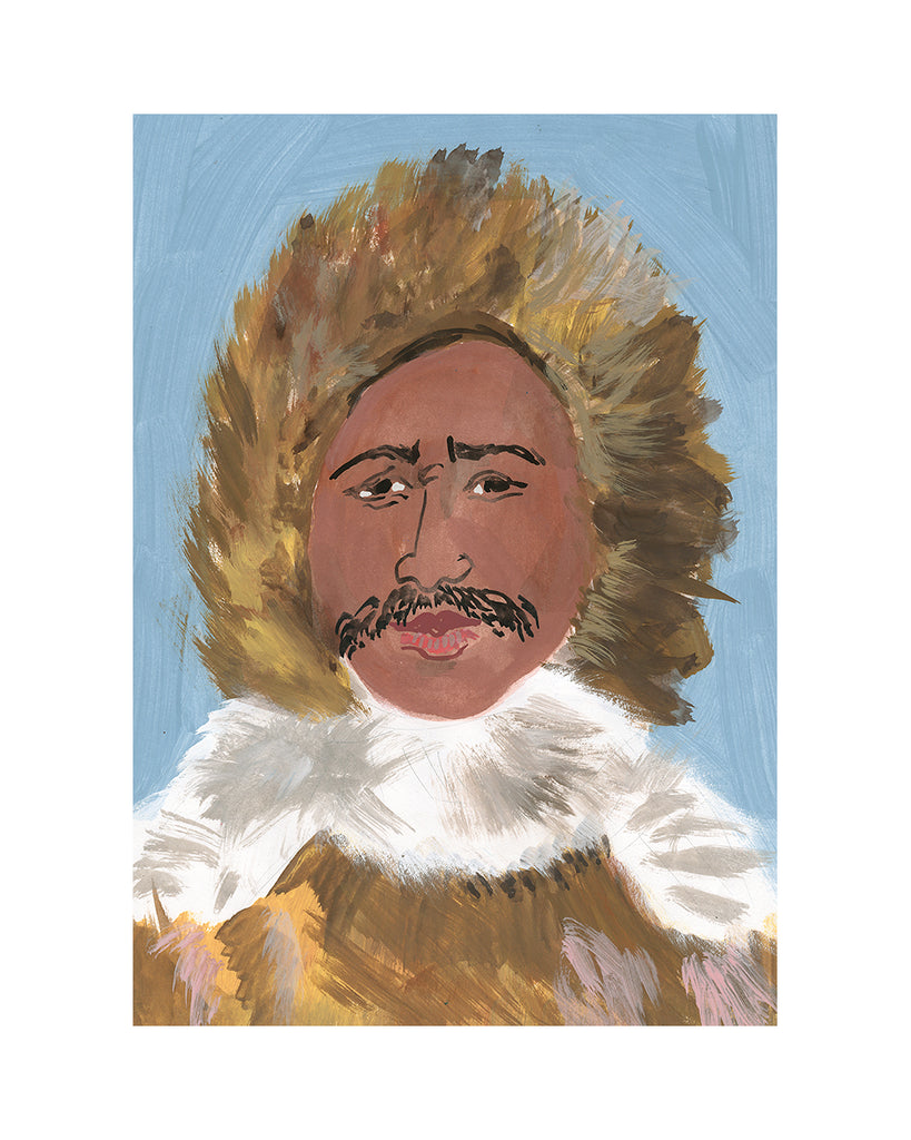 Painted Portrait - Henson the Explorer