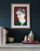 Painted Portrait - Virginia Woolf