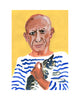 Painted Portrait - Mr Picasso