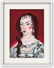 Painted Portrait - Henrietta Maria of France