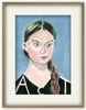 Painted Portrait - Greta Thunberg