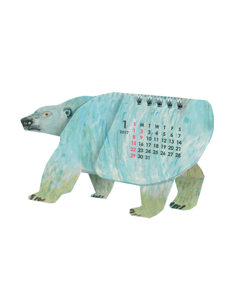 Animal Calendar Polar Bear