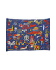 Folk Art Blanket (Small): Animal friends