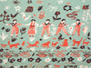 Folk Art Blanket (Small): Little Dancers