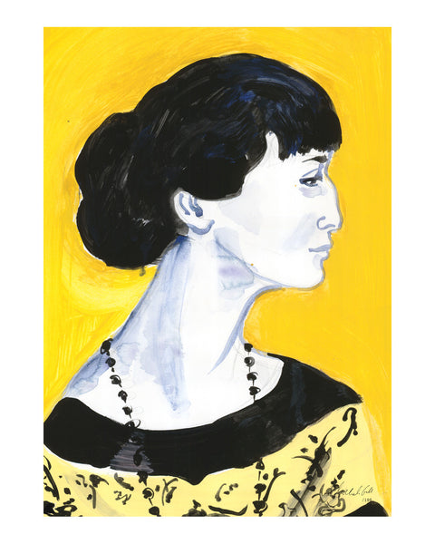 Painted Portrait - Anna Akhmatova