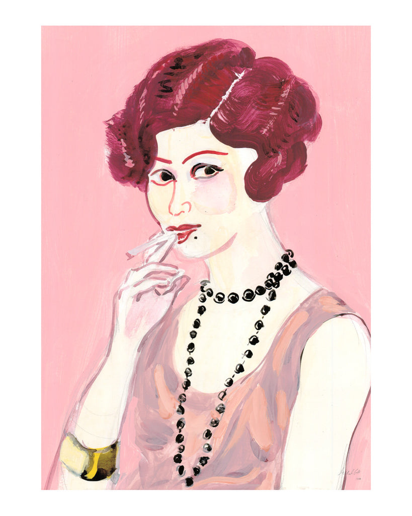 1. Painted Portrait - Mrs Zelda Fitzgerald
