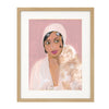 Painted Portrait - Josephine Baker