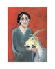 Virginia Woolf & Goat (Print)