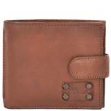 vintage style leather wallet