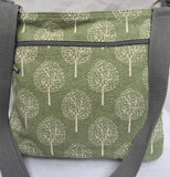 Large cotton messenger bag
