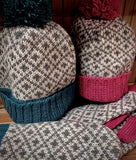Jacquard Bobble Hat