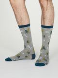 Christmas Tree Bamboo Socks Mens