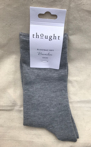 women's plain bamboo socks