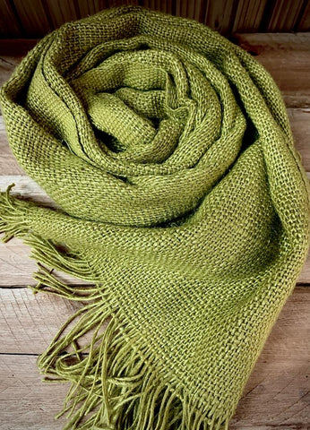 Banana Yarn Scarf