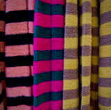 Stripey fluffy jumpers