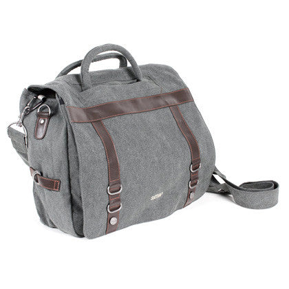 Hemp Messenger Bag Grey
