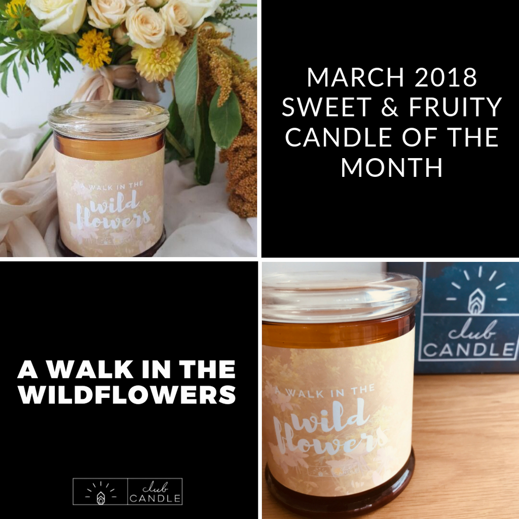 Candle of the Month – Walk in the Wildflowers