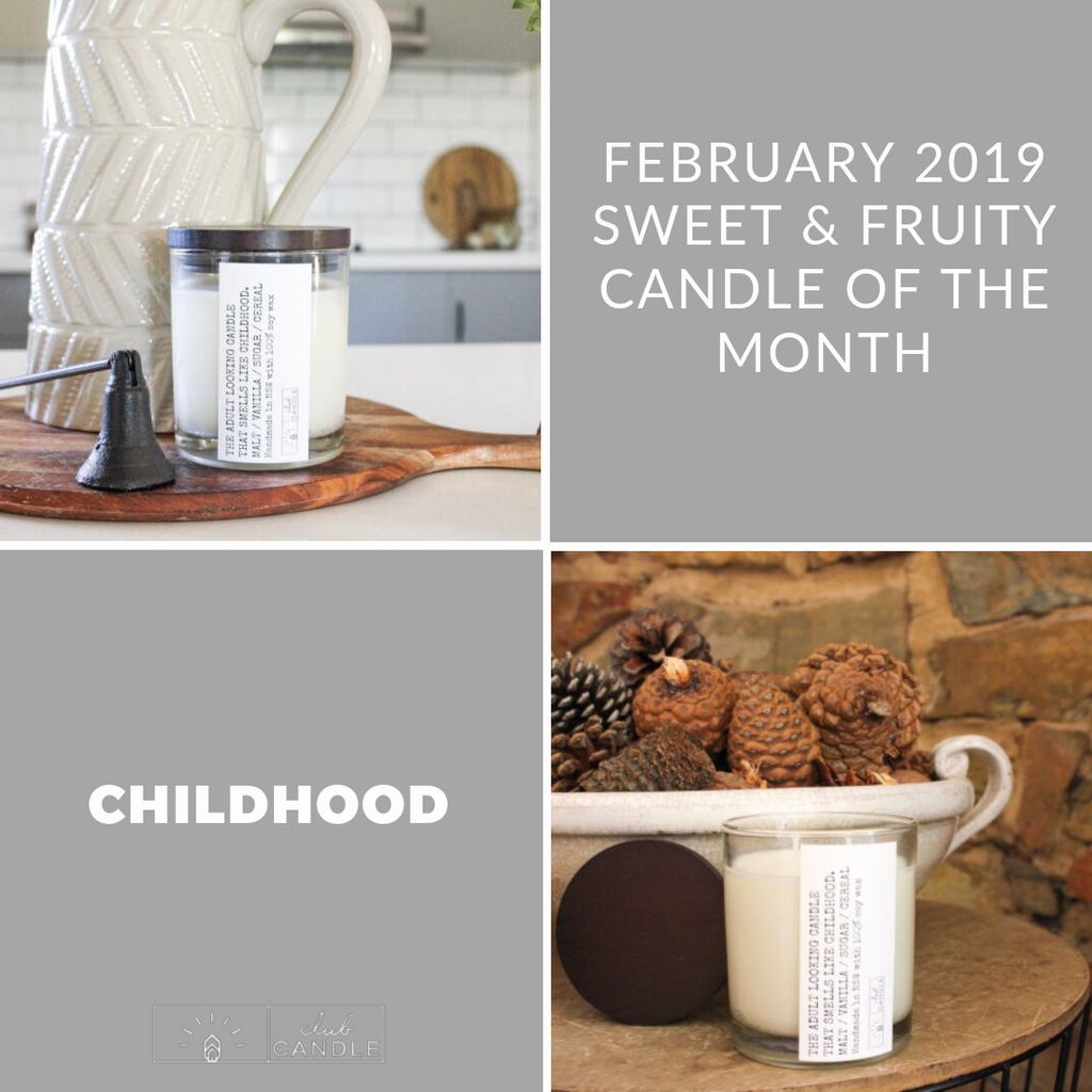 Candle of the Month – Childhood