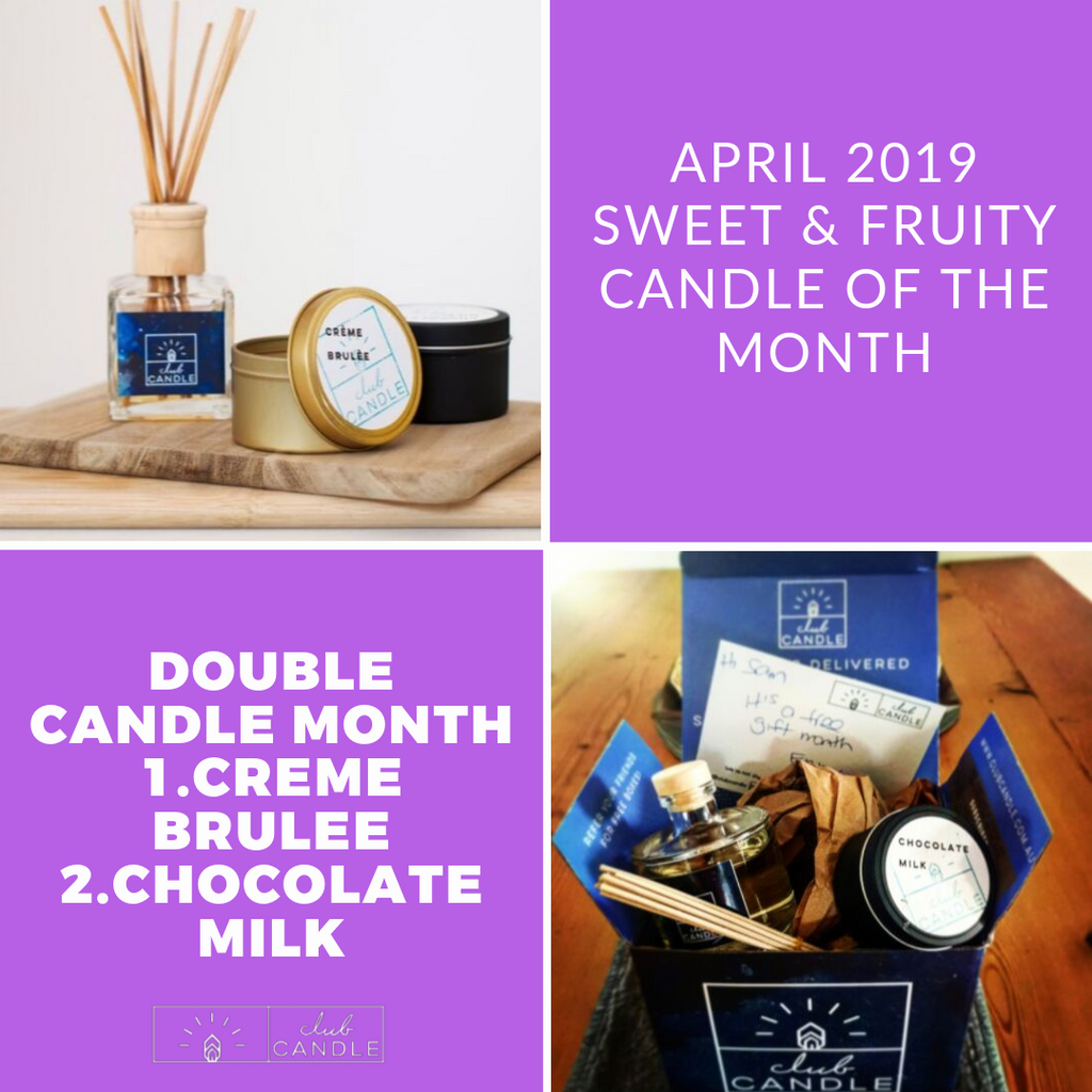 Candle of the Month – Choc Milk and Creme Brulee