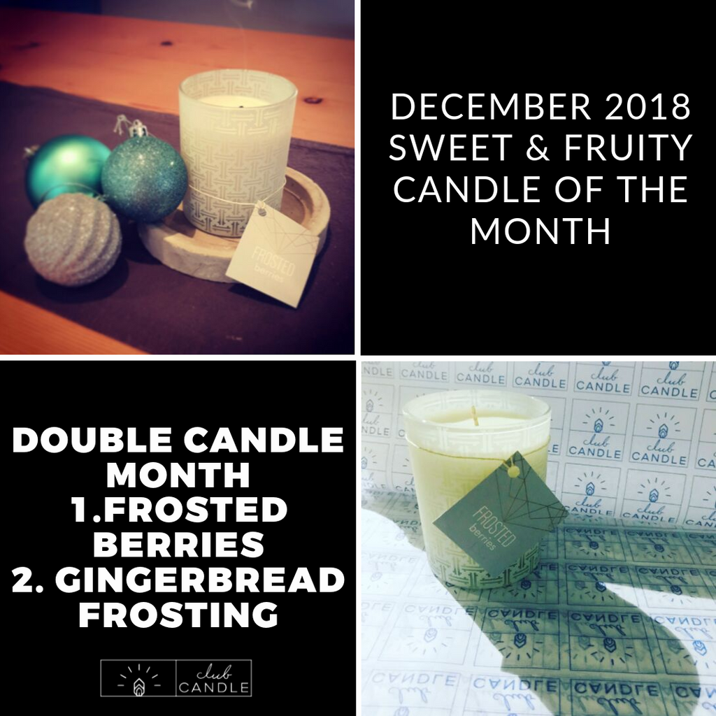 Candle of the Month – Frosted Berries and Gingerbread Frosting